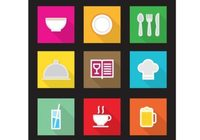 flat-kitchen-vector-icons