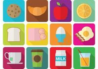 vector-flat-breakfast-icons